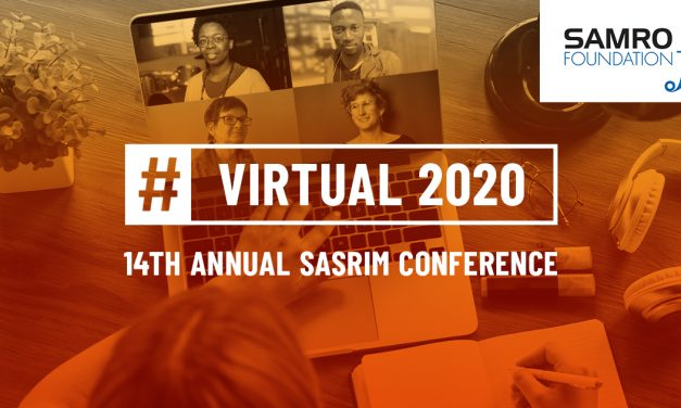 SASRIM 14th Annual Conference 2020